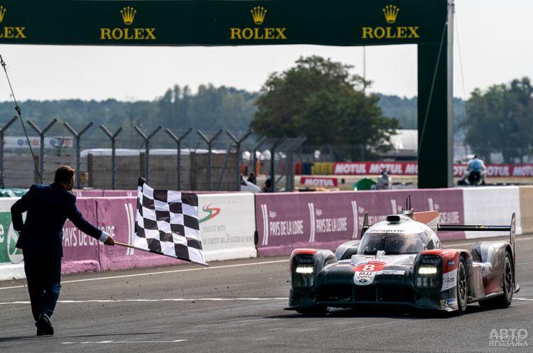 Toyota выигрывает Ле-Ман-2020