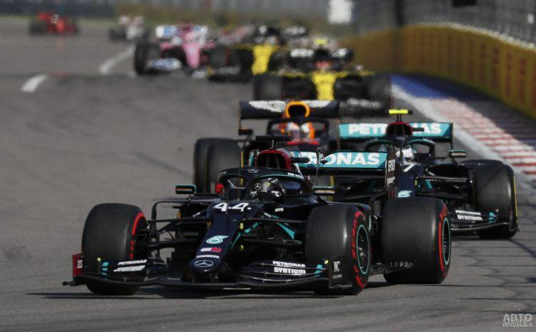 Формула-1: Боттас одержал вторую победу в сезоне