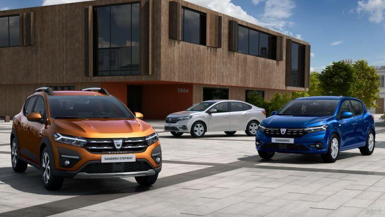 Dacia Logan и Sandero: смена поколений
