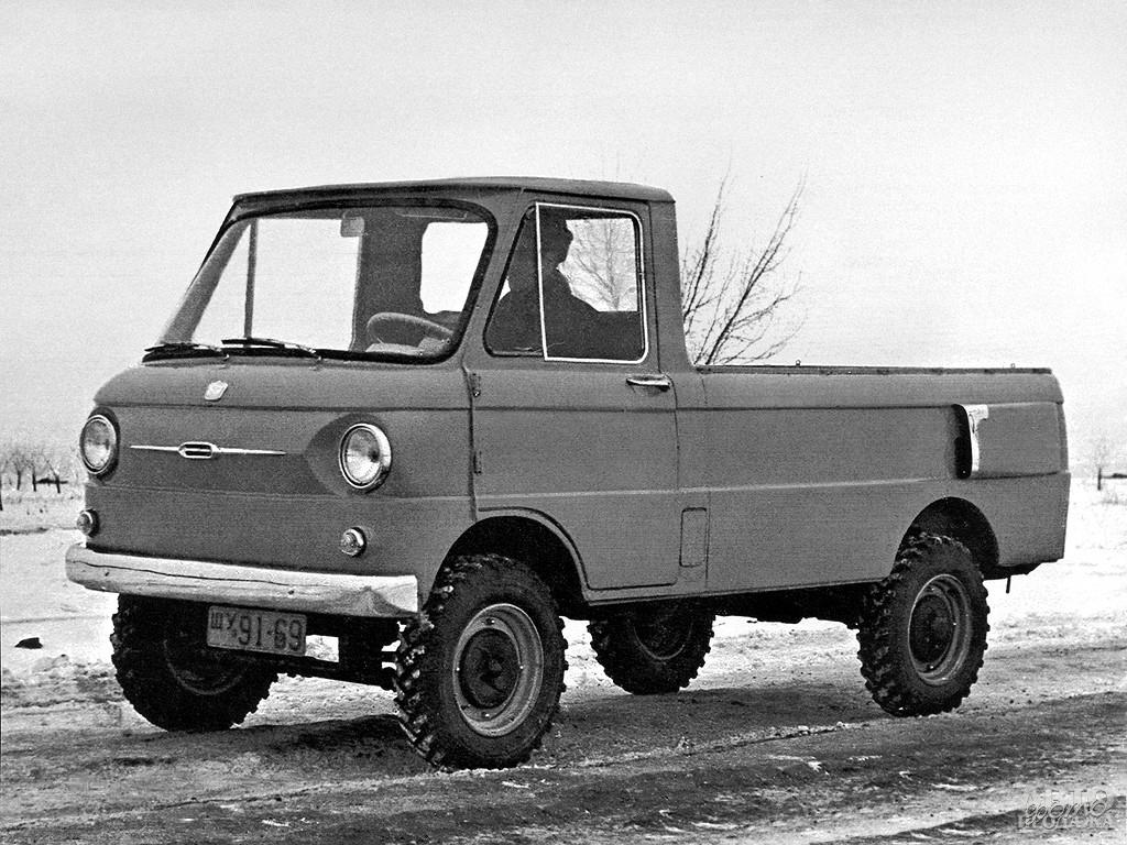 Прототип вседорожного ЗАЗ-970, 1962 год
