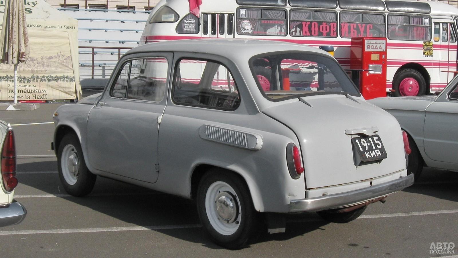 Дизайн создан под влиянием Fiat 600