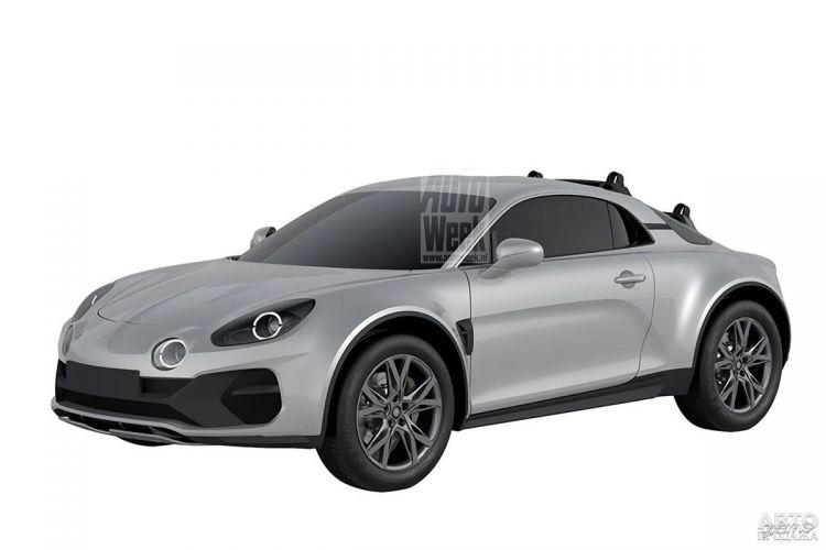Купе Alpine A110 получит вседорожный вариант