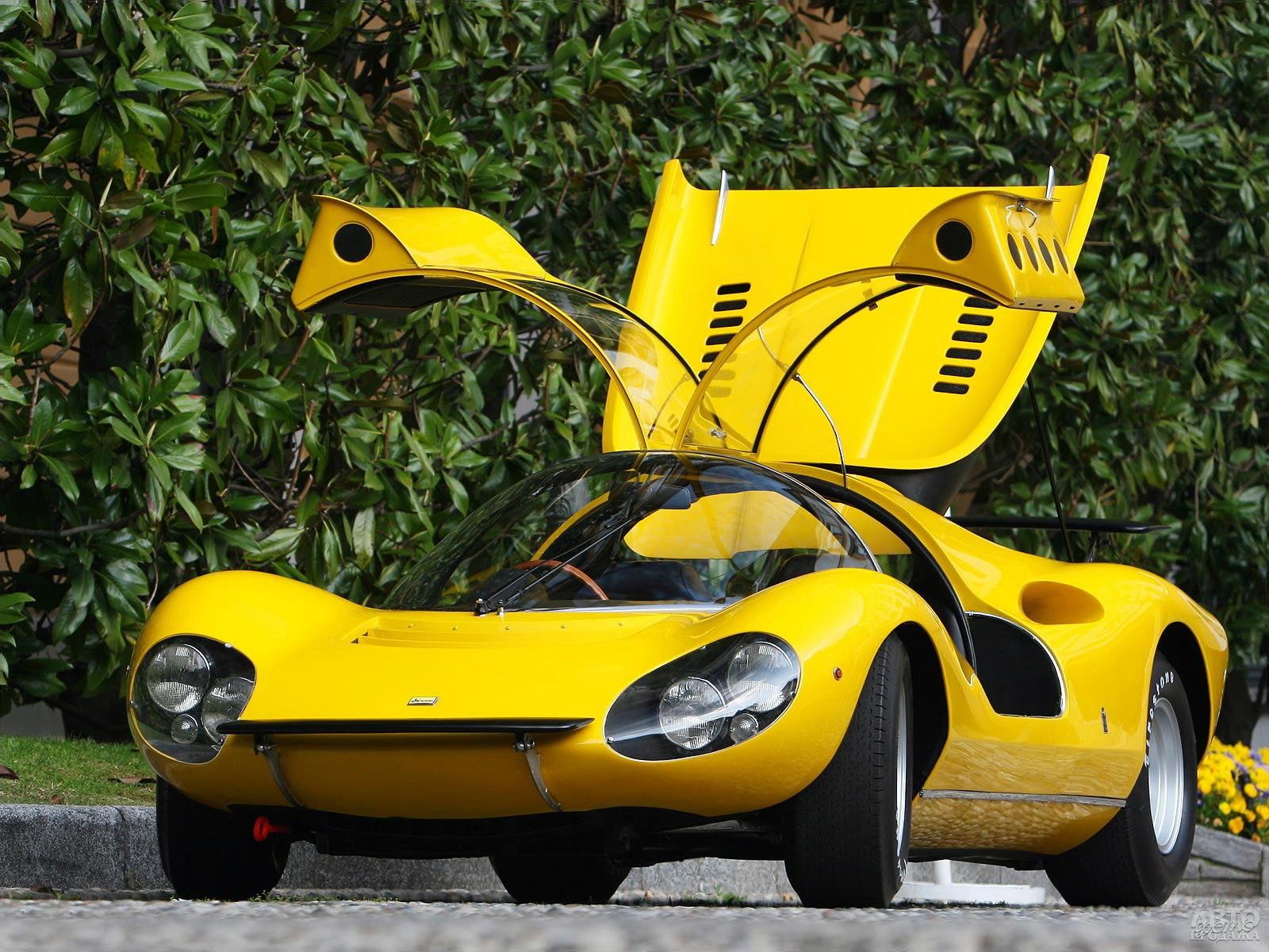 Ferrari Dinо 206 S Competizione от Pininfarina, 1966 год