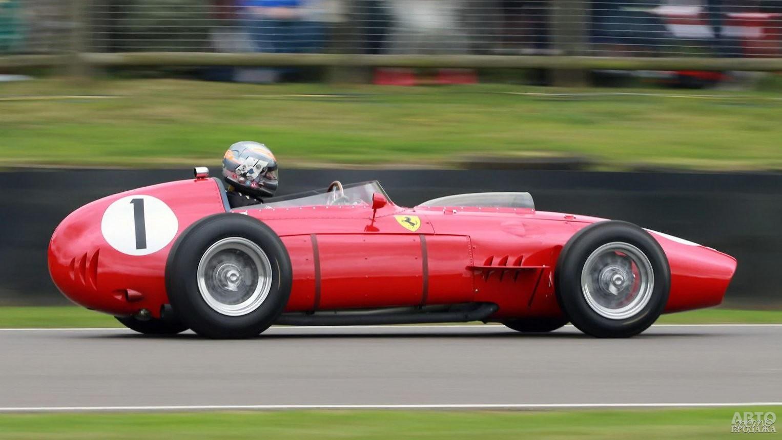 Чемпионский Ferrari 246 Dino 1958 года