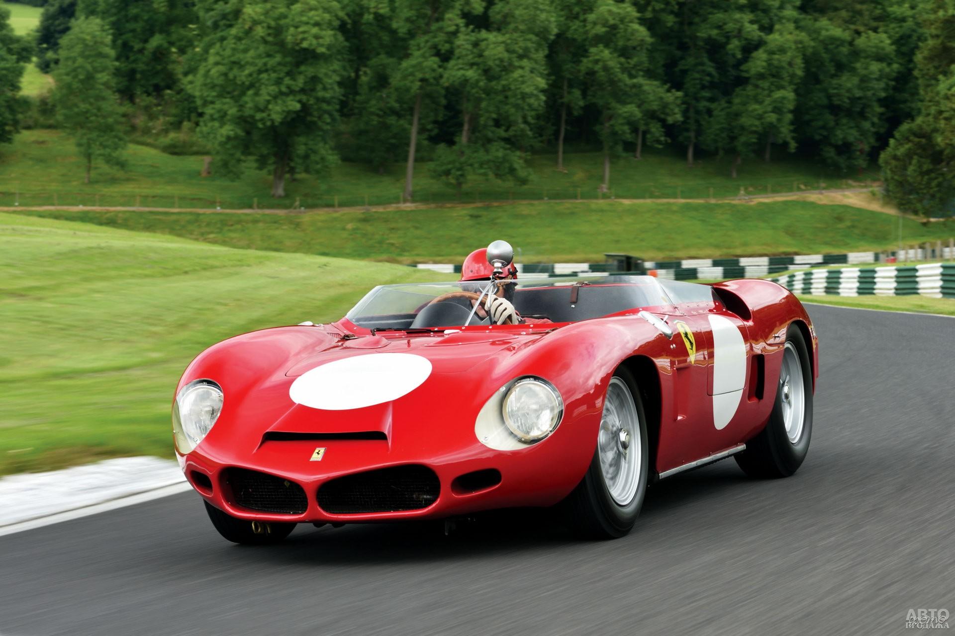 Среднемоторный Ferrari Dinо 246 SP 1961 года