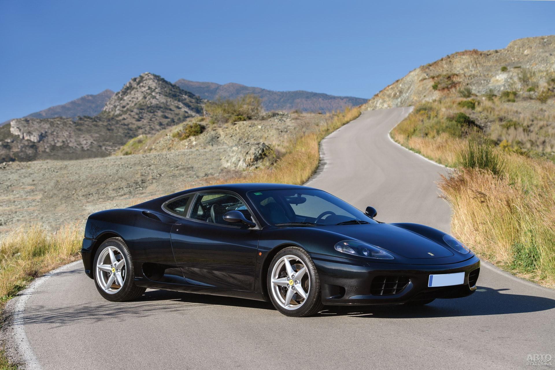 Эволюция двигателей Dino завершилась на Ferrari 360 Modena 2000 года