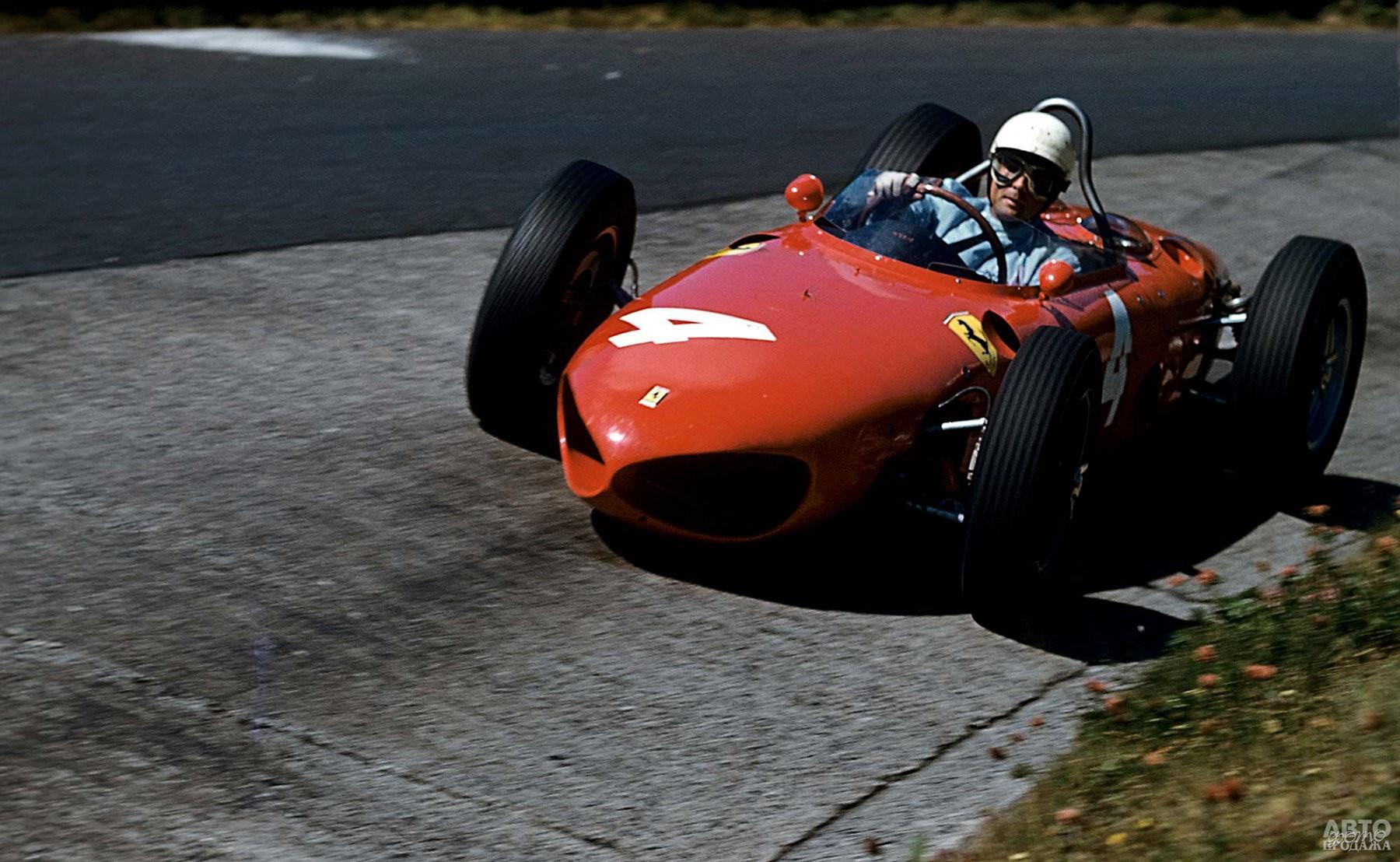 Филл Хилл стал чемпионом мира в 1961 году на Ferrari 156 F1