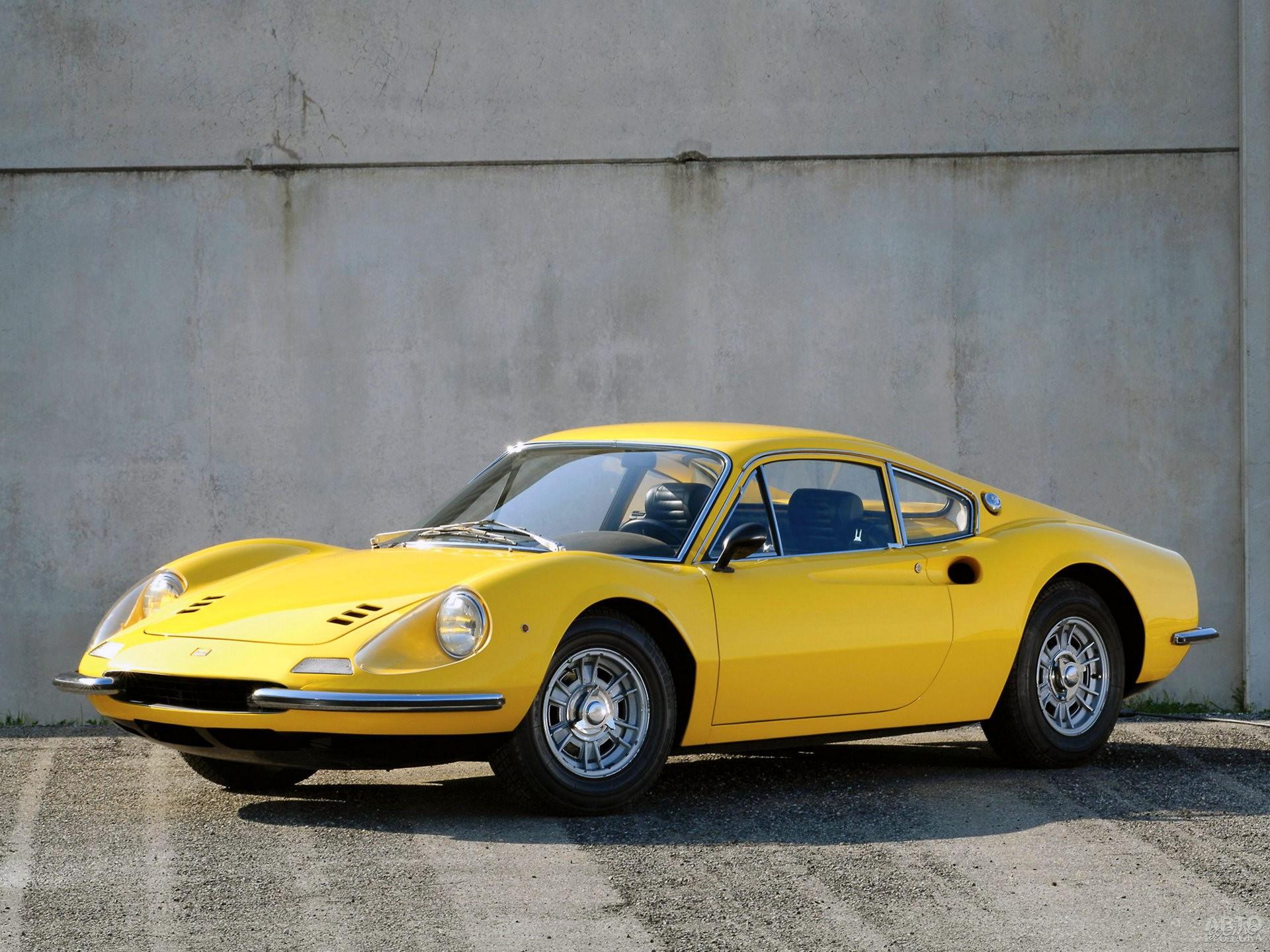 Серийный Ferrari Dinо 206 GT 1967 года
