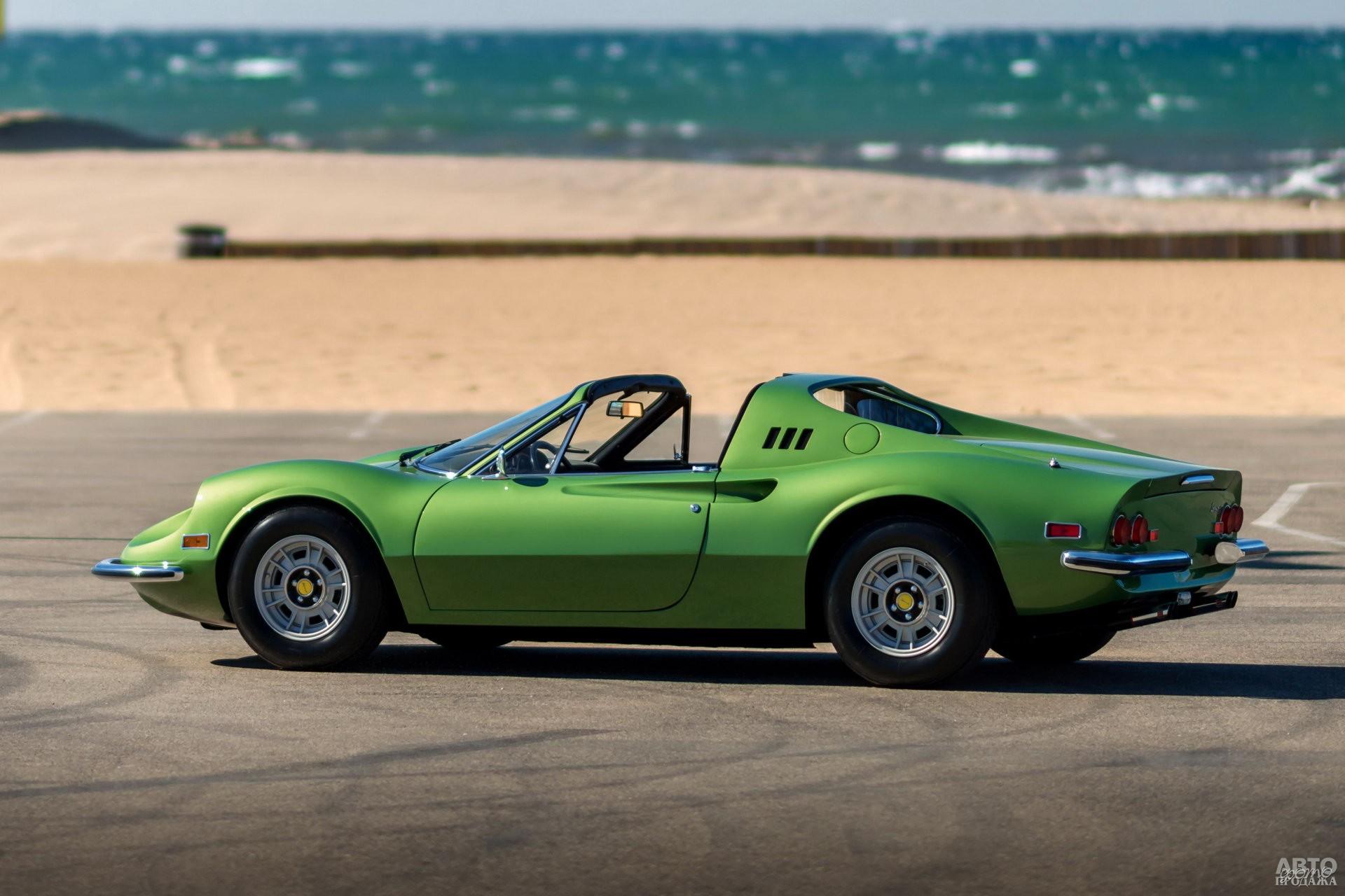 Кабриолет Ferrari Dinо 246 GTS 1972 года