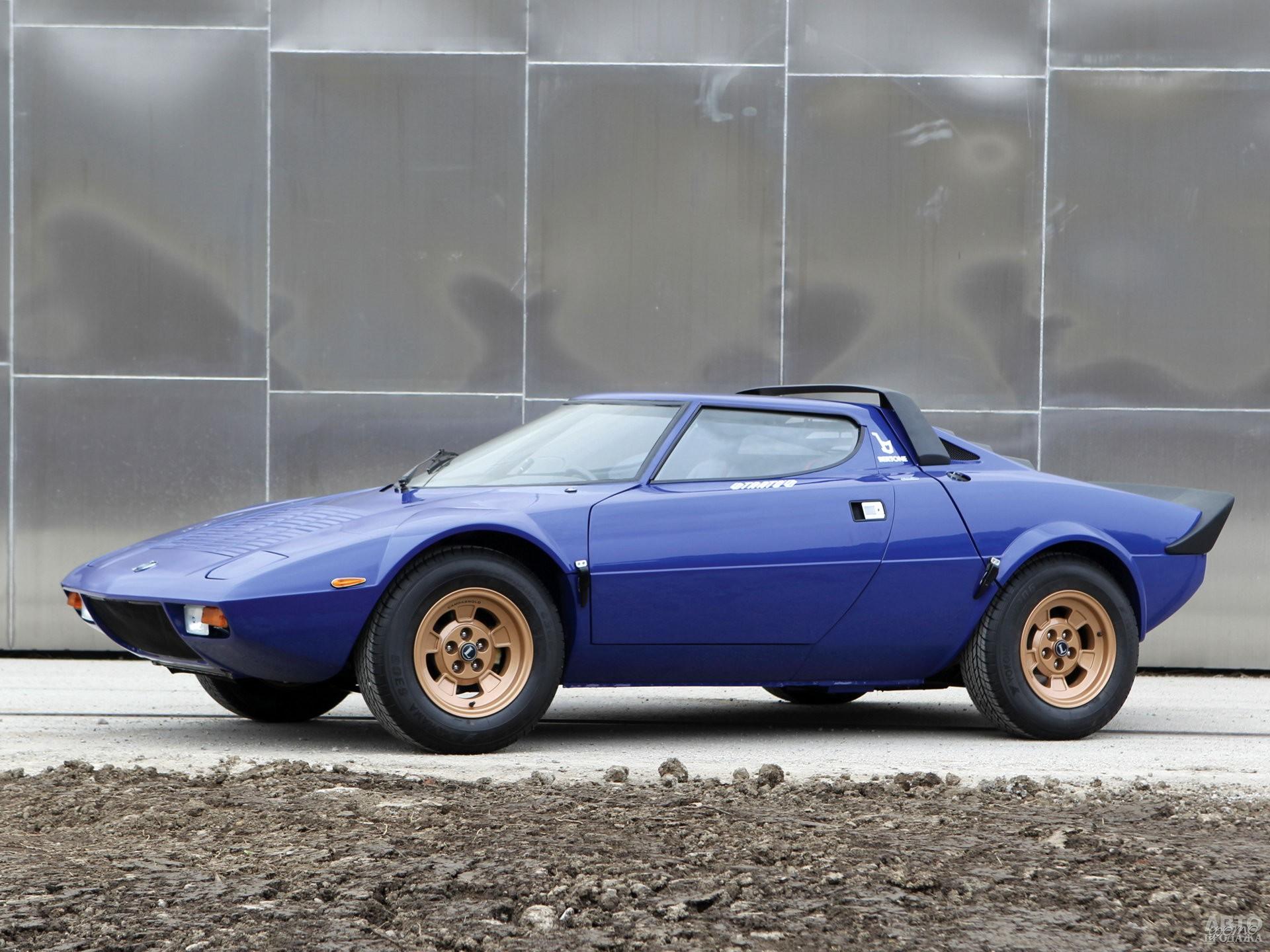 Знаменитый Lancia Stratos 1973 года также использовал V6 Dino