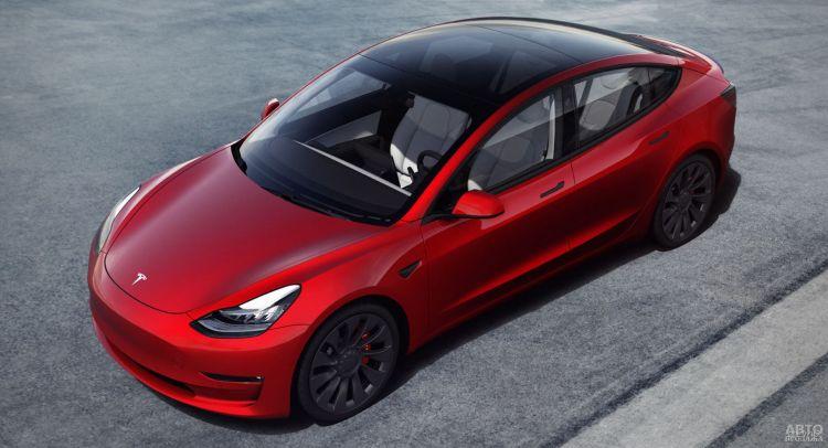 Tesla Model 3 прошла модернизацию