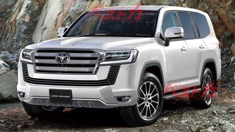 Новый Toyota Land Cruiser дебютирует через год