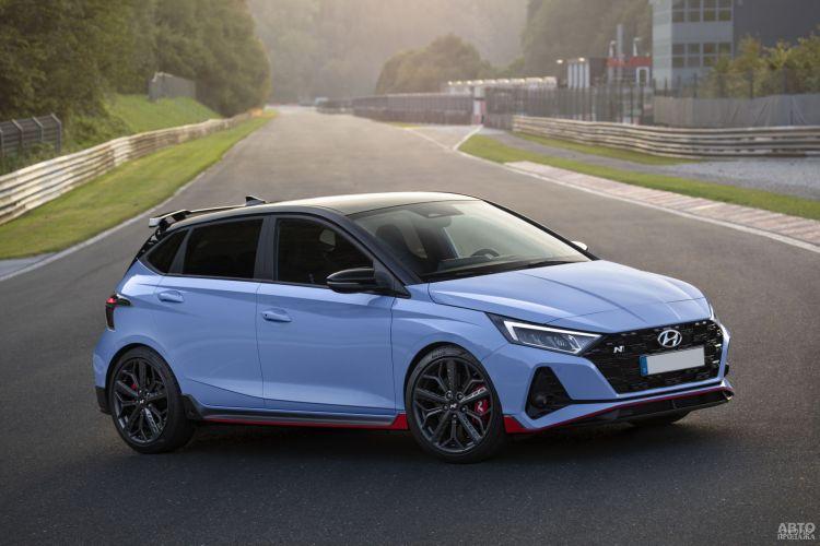 Hyundai i20 N: быстрый и доступный