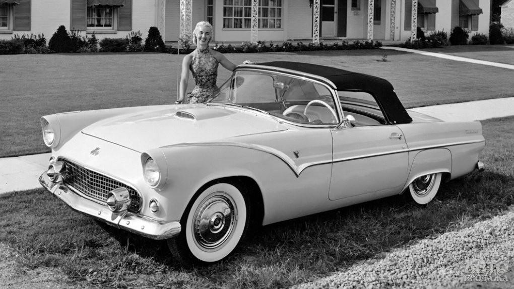 Прототип Fоrd Thunderbird, 1954 год