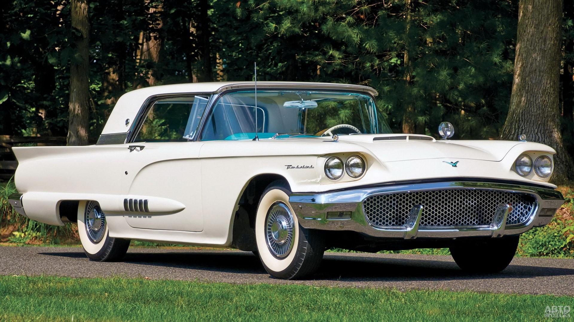 Купе Fоrd Thunderbird второго поколения, 1958 год