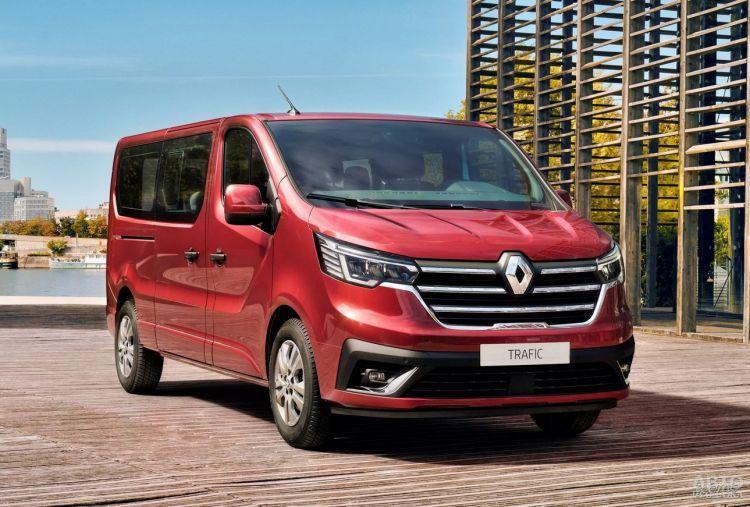 Renault Trafic прошел обновление