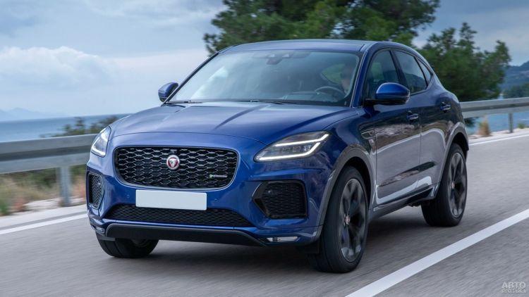 Jaguar E-Pace: обновление