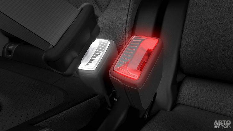 Skoda презентовала улучшенные ремни безопасности
