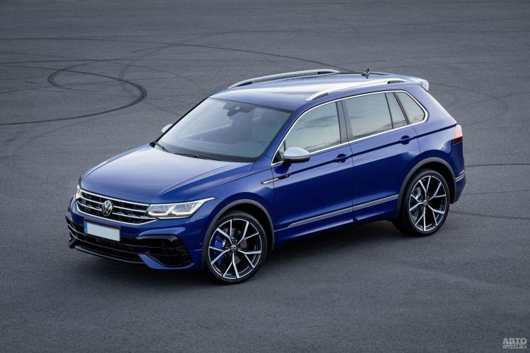 Volkswagen Tiguan: новый дизайн и мощные двигатели