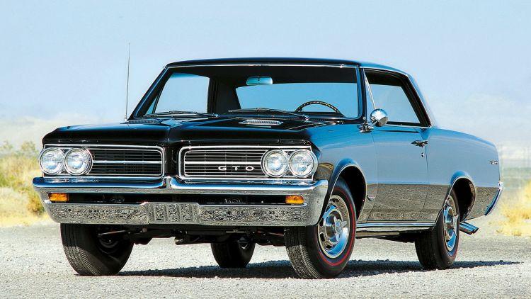 Pontiac GTO: быстрый американец
