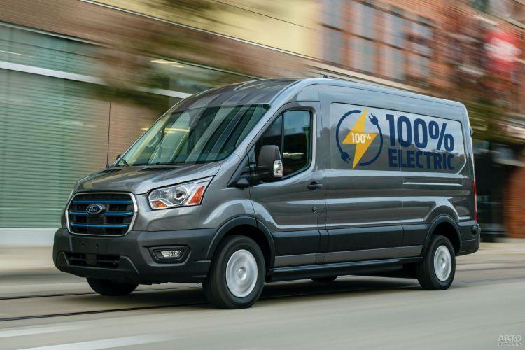 Ford Transit стал электромобилем