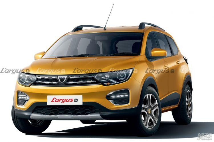Renault готовит недорогой семиместный вседорожник