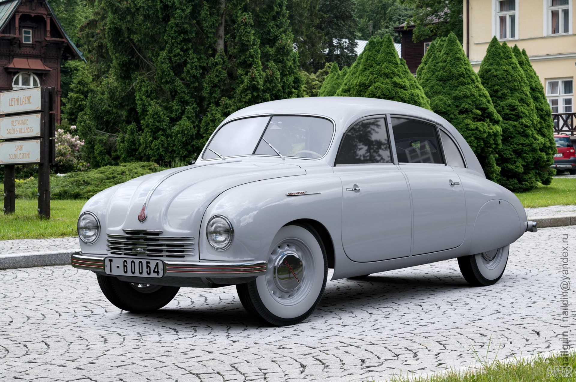 Tatrа T600 Tatraplan 1948 года