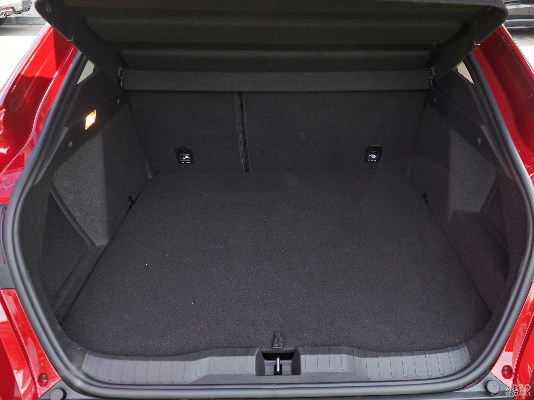 Объем багажника Rеnault – 409 л