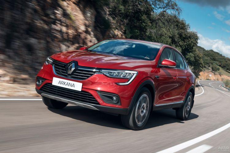 Hyundai Tucson, Jeep Compass и Renault Arkana: разные концепции компактных вседорожников