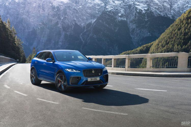 Jaguar F-Pace SVR обновили