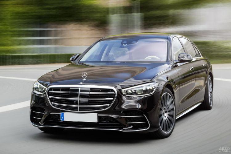 BMW 7 Series, Lexus LS и Mercedes-Benz S-Class: высший класс