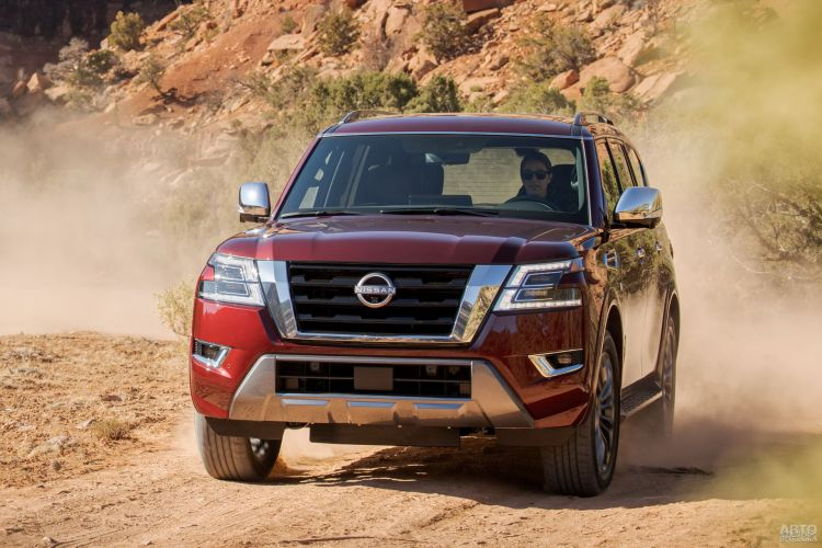 Nissan Armada: модернизация