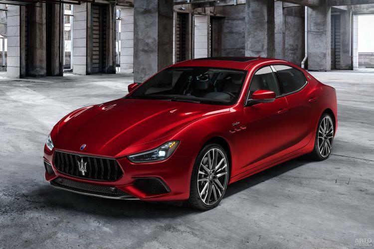 Maserati Ghibli: модернизация и прибавка в мощности