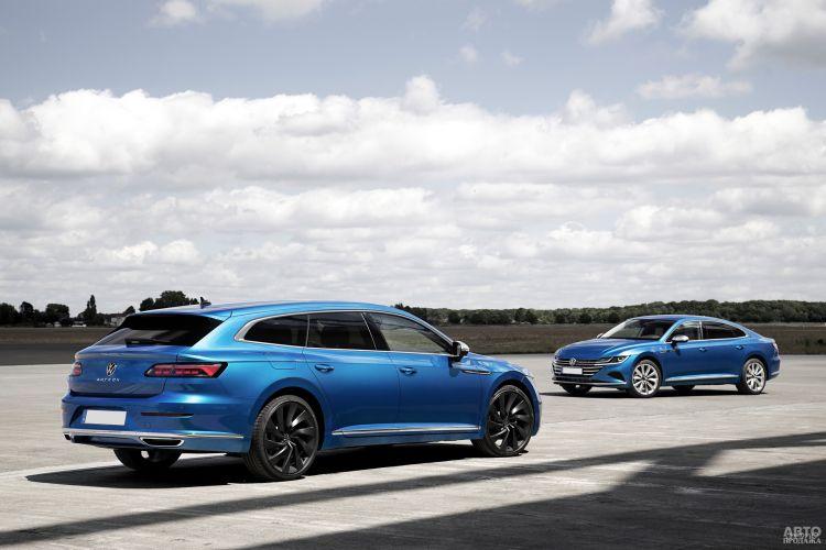 Volkswagen Arteon Shooting Brake: стильный и практичный