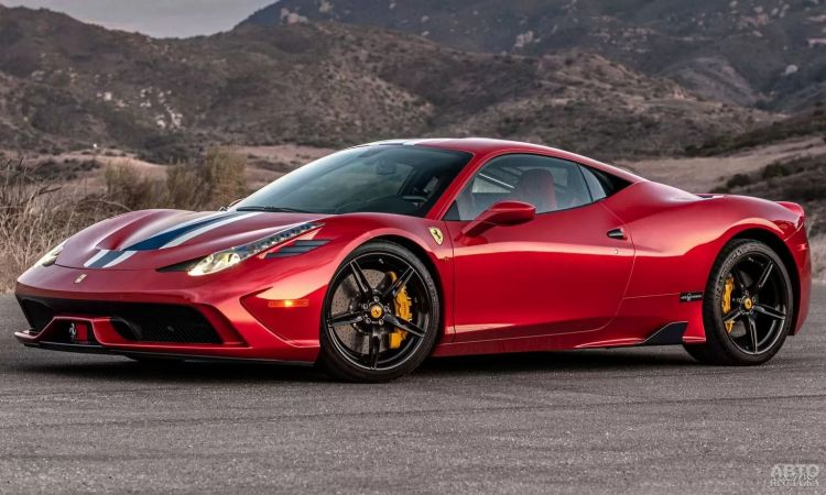 Презентован первый бронированный Ferrari