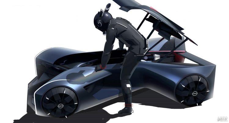Nissan GT-R X 2050: спортивный автомобиль будущего
