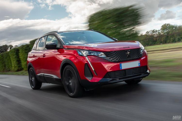 Peugeot 3008: освежение
