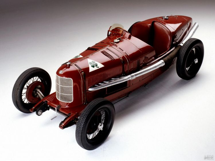 Чемпионский Alfa Romeo Р2 1924 года – первое творение Витторио Яно