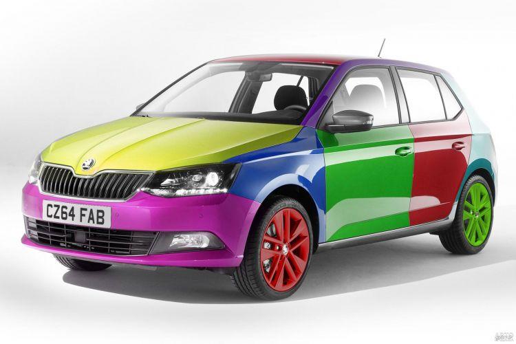 Самые популярные цвета автомобилей в Украине