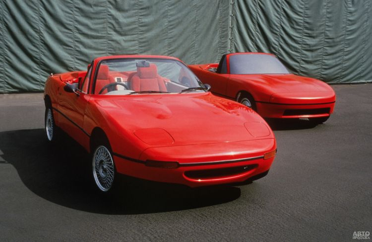 Прототипы Mаzda MX-5 1988 года