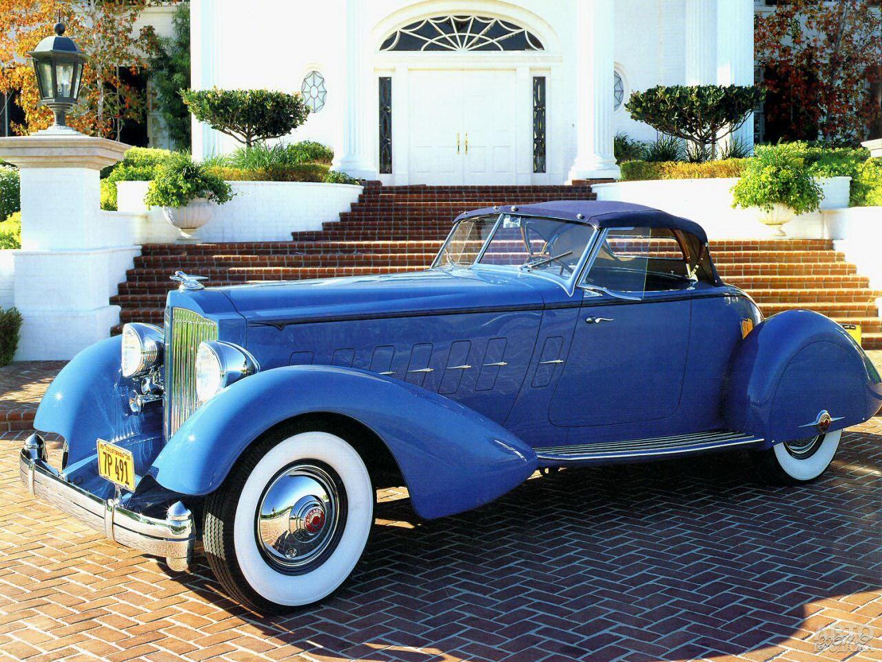 Кабриолет Packard Twelve Boattail Speedster принадлежал актеру Кларку Гейблу