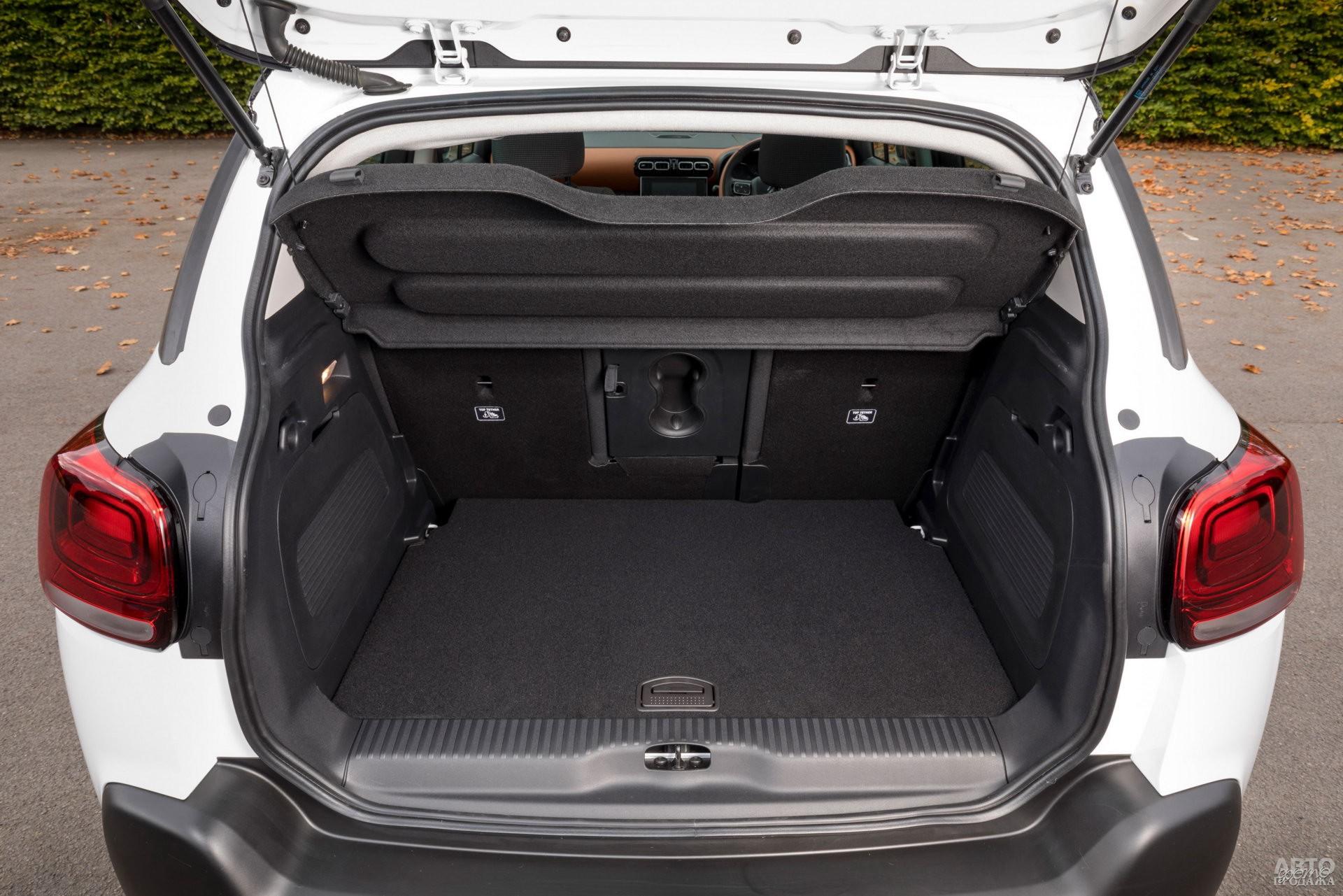 Багажник Citrоen самый большой – 410-520 л