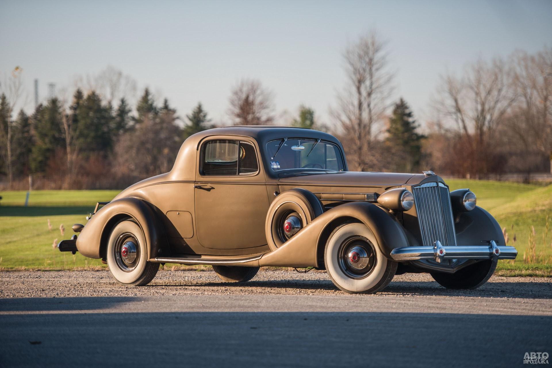 Купе Packard Twelve 1937 года