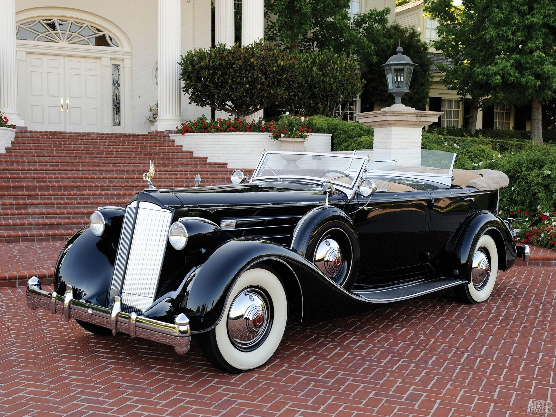 Фаэтон Packard Twelve в исполнении Dietrich, 1935 год