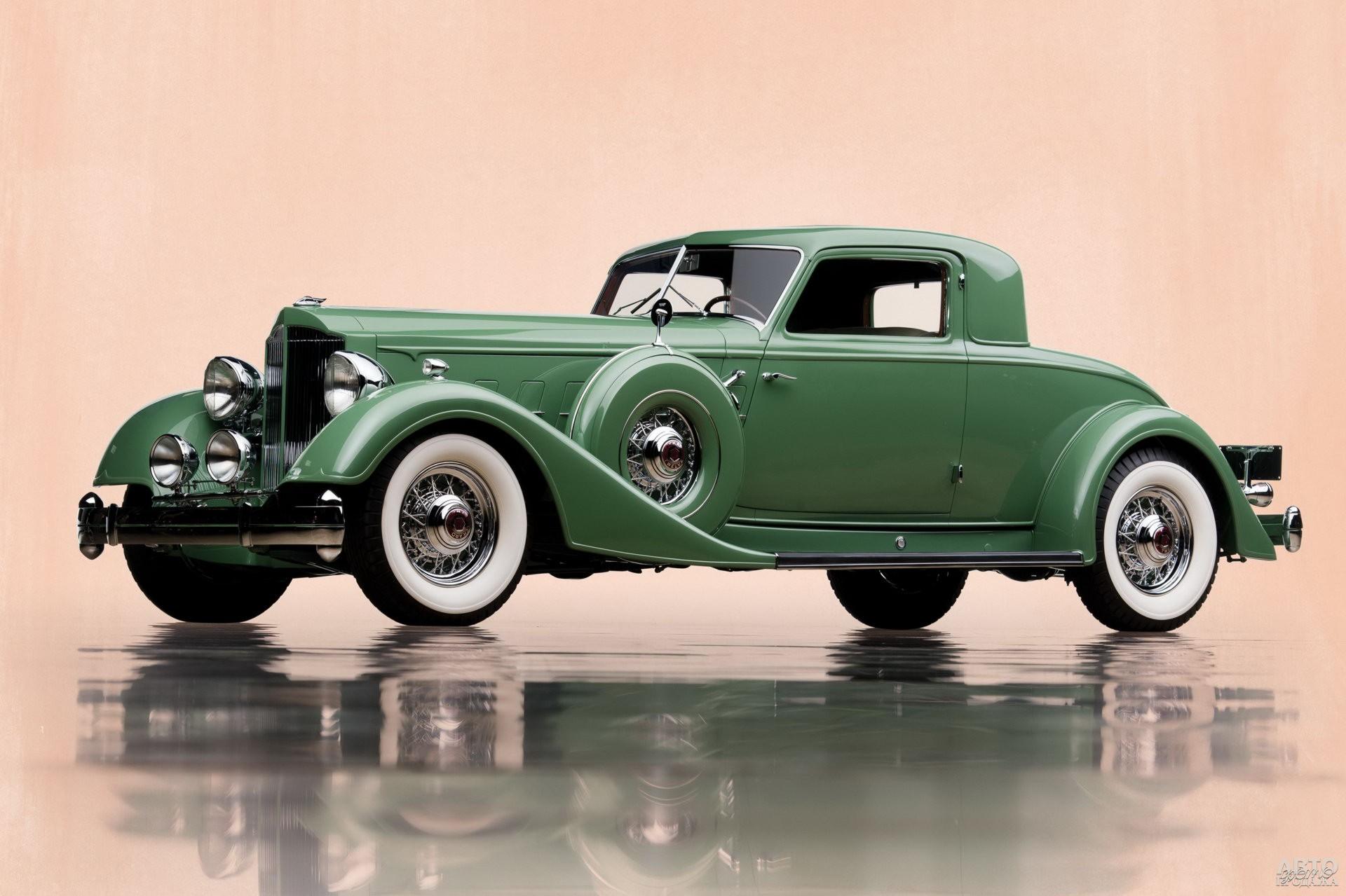 Купе Packard Twelve 1934 года от ателье Dietrich