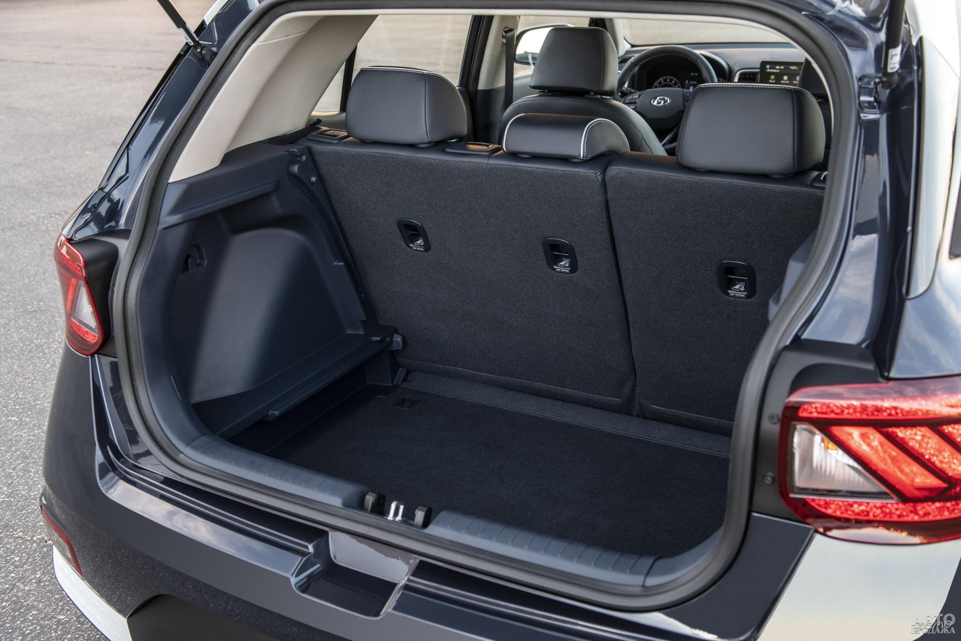 Объем багажника Hyundаi – 355 л