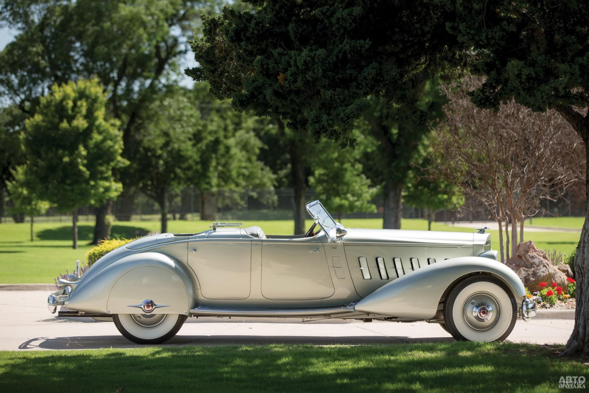 Фаэтон Pаckard Twelve с кузовом от ателье LeBaron, 1934 год
