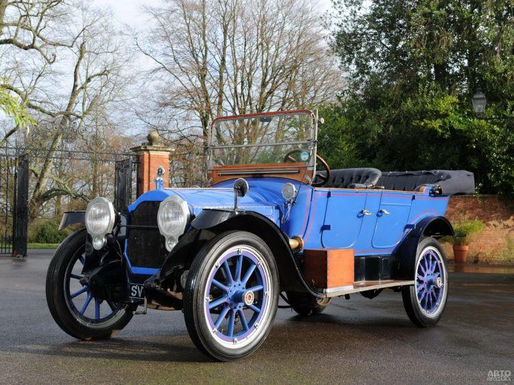 Packard Twin Six: роскошь и технологии