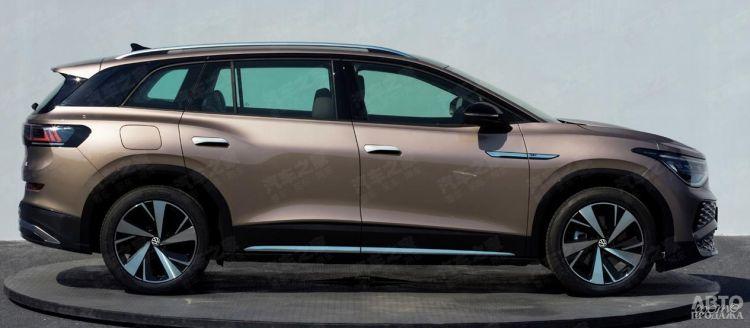 Первые фото нового электромобиля Volkswagen