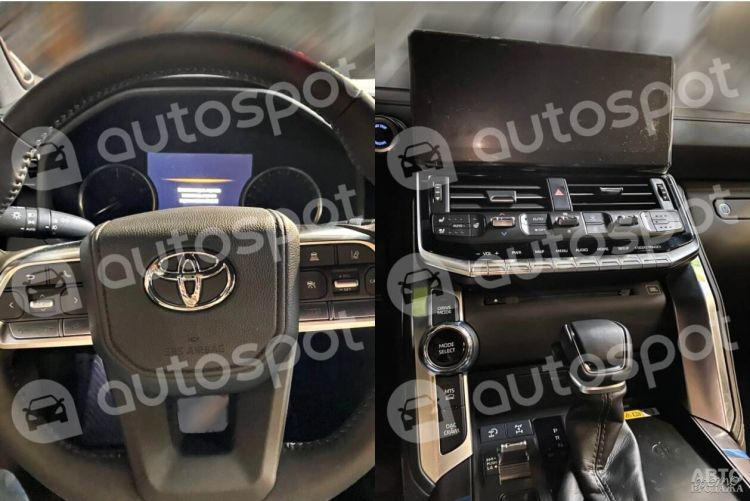 Рассекречен салон нового Toyota Land Cruiser